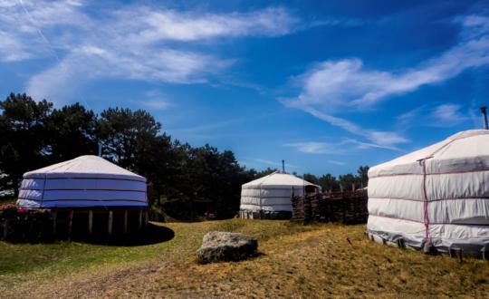 Texel Yurts - Glampingguide.co.uk