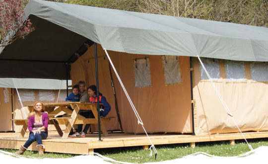 Outdoor Camping Barvaux - Glampingguide.co.uk