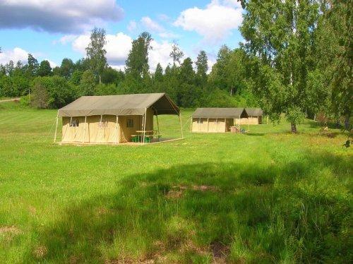 Storängens safari tent